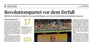 Revolutionspartei ANC verliert an Macht