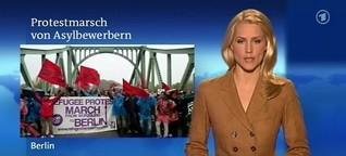 ARD Tagesschau - Flüchtlingsmarsch.mov