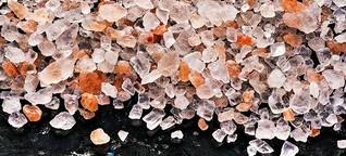 Plastik-Salz in der Suppe