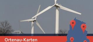 Windkraft in der Ortenau im Überblick