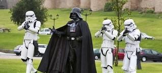 Darth Vader auf Krankenbesuch