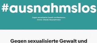 Initiative #ausnahmslos - Frauenrechte kein Vorwand für Rassismus