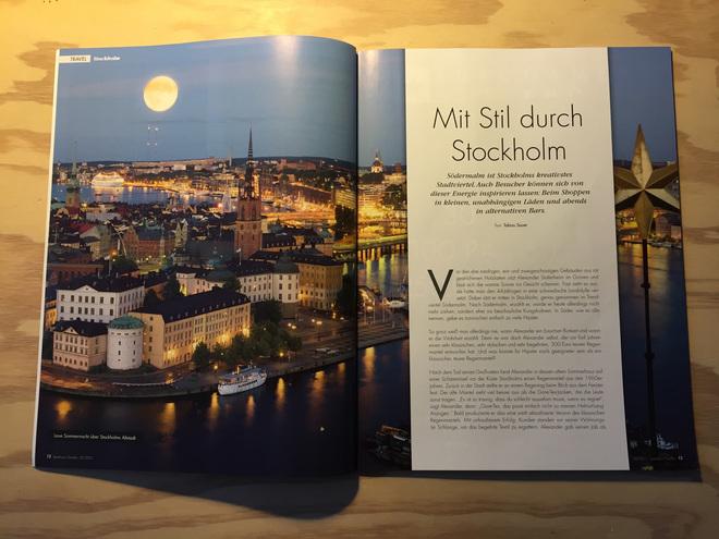 Mit Stil durch Stockholm