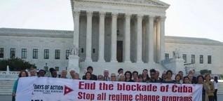 USA lockern Teile der Blockade gegen Kuba