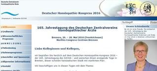 Gesundheitssenatorin im Homöopathie-Widerspruch