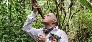 In Peru macht eine Indianer-Droge Karriere bei Backpacker-Touristen. : Ein Drogen-Trip