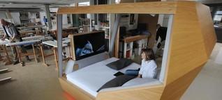 Das Bett der Zukunft weiß genau, wie Sie schlafen
