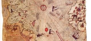 Halfen Außerirdische beim Erstellen dieser Karte?