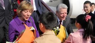 Gauck in China - Ein schmaler Grat für Kritik