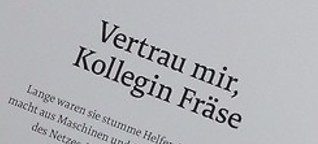 CORPORATE FEATURE Vetrau mir, Kollegin Fräse