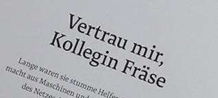 CORPORATE FEATURE Vetrau mir, Kollegin Fräse