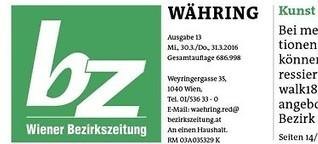 BZ Währing - Reportage Währinger Märkte