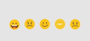 Endlosloop statt Smiley: Gifs sind das neue Emoji | BR.de