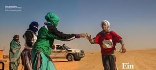 Ein vergessenes Wüstenvolk - Marathon durchs Flüchtlingslager