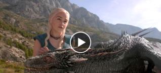"""Ein Deutscher baut die """"Game of Thrones""""-Drachen"""