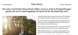 Heinz Strunk: Vom Leben gelernt