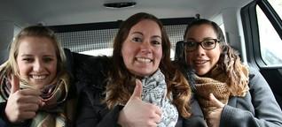 Danke, EXPRESS! Ehrenfelder Mädels fuhren dem Streik im Taxi davon