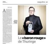 Bodo Ramelow Portrait für Le Monde