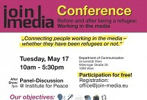 JoinMedia conference, May 17, 2016