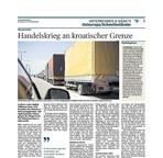 Handelskrieg an kroatischer Grenze / Foto