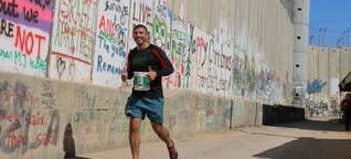 In Palästina wird ein Marathon zum Protest