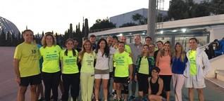 Flüchtlinge in Griechenland - Sport für die Würde