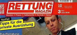 Rettungs-Magazin: Gestatten, mein eigener RTW!