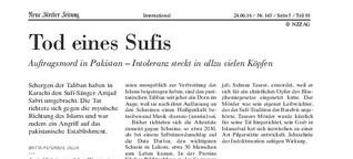 Tod eines Sufis