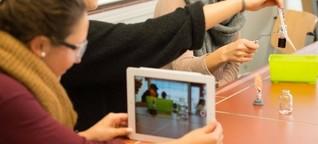 Unterricht mit dem Tablet: Das wischende Klassenzimmer