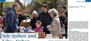 Treffpunkt Flohmarkt (KölnerLeben Juni/Juli 2016)