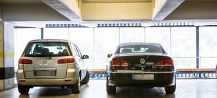 Kennzeichen werden in Parkhäusern werden immer öfter gespeichert