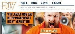 Newsletter - DJV - Deutscher Journalisten-Verband