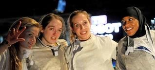 US-Fechterin Ibtihaj Muhammad - Im Kopftuch zu Olympia