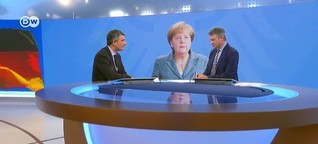 Angela Merkel facing sinking popularity rates - Studio Talk at DW News August 2016