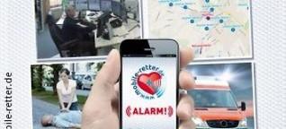 Notfall: App alarmiert Ersthelfer