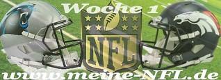 Zum NFL Auftakt die Revanche: Denver - Carolina bei #ranNFL