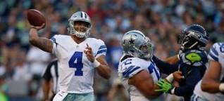 Prescott und Co überfordert gegen Giants
