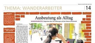Ausbeutung von Wanderarbeitern in Deutschland