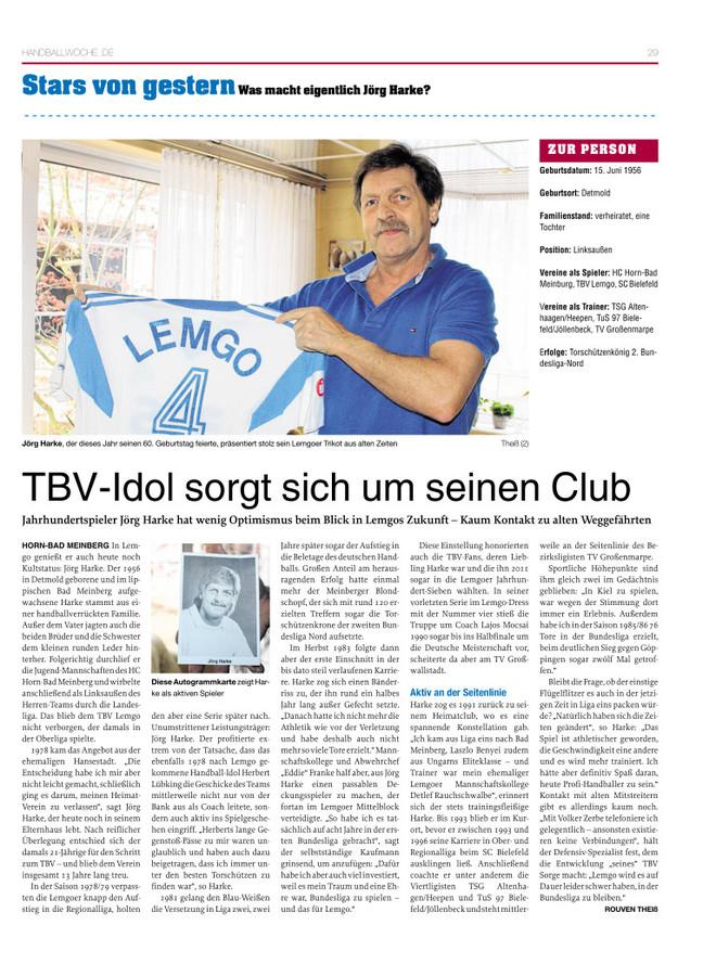TBV-Idol sorgt sich um seinen Club
