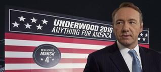 PR-Streich zu US-Wahlen: Netflix schickt Kandidat Frank Underwood ins Rennen