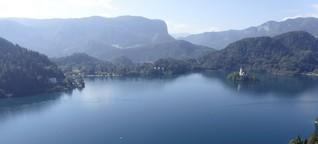 Slowenien: Oberkrainer, eine süße Stadt und der See von Bled