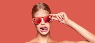 Was plant Snapchat mit seiner Video-Sonnenbrille?