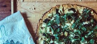 Mediterranean Pizza with Cauliflower