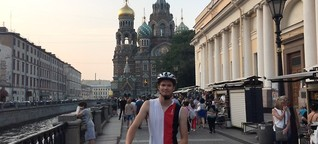PAULBIKE: Setting Off From Russia to Austria by Bicycle
