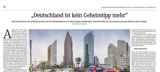 """""""Deutschland ist kein Geheimtipp mehr"""""""