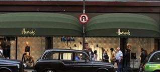 Einkaufstouristen in England: Das Pfund fällt, der Luxus steigt