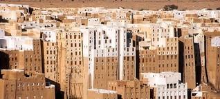 Jemen: Welten aus Lehm mit Mobiltelefon