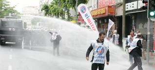 Eindrücke von den 1. Mai-Protesten in Istanbul | Welt