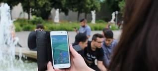 """""""Pokémon Go"""": Auf Monsterjagd im Schlossgarten"""