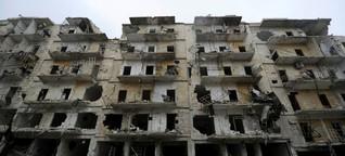"""Krieg um Aleppo - """"Als warte man auf den Tod"""""""